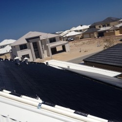 Solar Pool Heating Install - Burns Beach