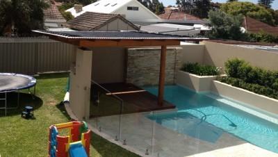 Solar Pool Install - West Leederville - 2